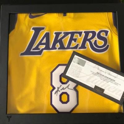 Autographed Kobe Bryant Jersey