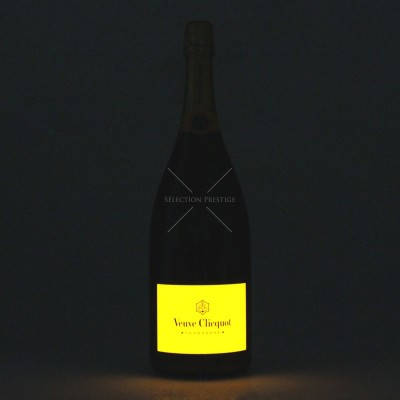 Veuve Clicquot 1.5 liter light up bottle