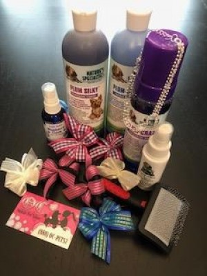 OC Mobile Pet Salon Gift Basket
